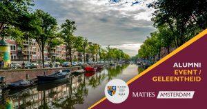 Maties in Amsterdam