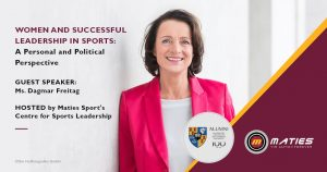 Women in Sport Leadership Guest Lecture