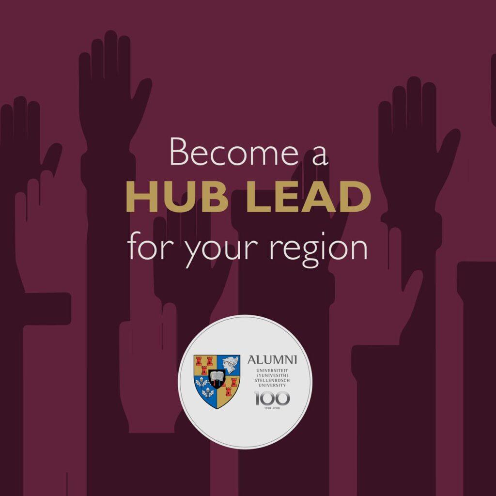 Become a hub leader